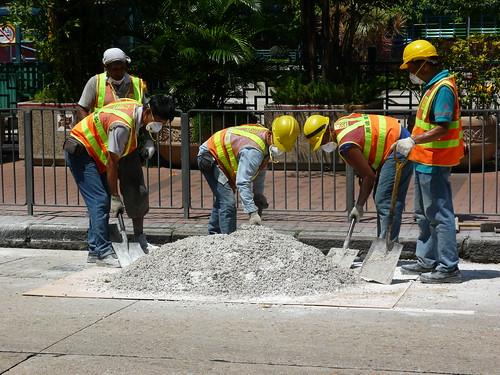 HK concrete making