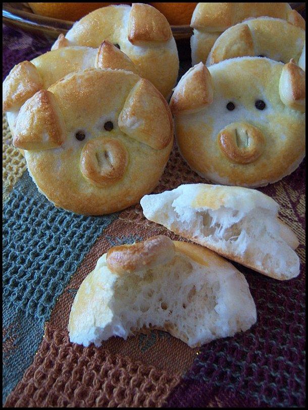 Yummy piglets