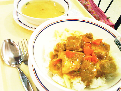 Bata Pork with Rice and Soup