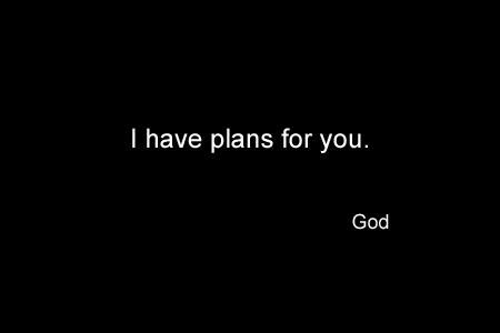 God Series 24 - Plans