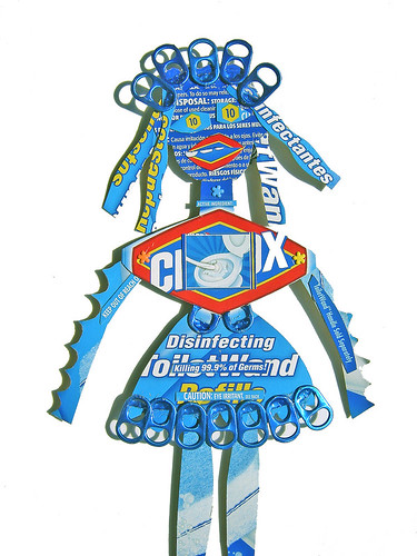 homemade doll - photo flickr urbanwoodswalker