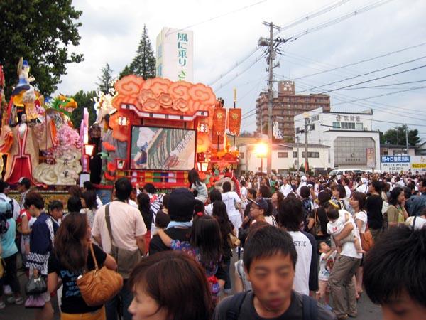 八戸三社大祭 2008 中日 2