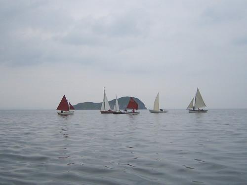 North Berwick Classic Boat Muster