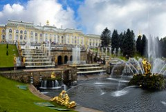 Peterhof, near St Petersburg