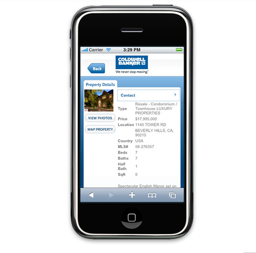 coldwellbanker.com iPhone - Listing Details by coldwellbanker.