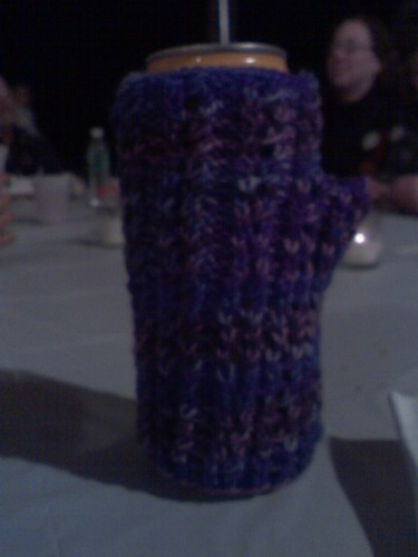 fingerless mitt to beer cozy