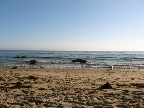 Arroyo Burro beach in Santa Barbara