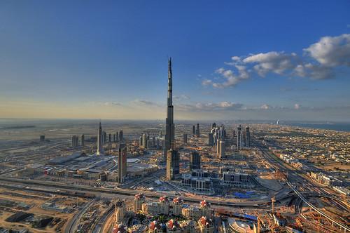 Burj Dubai: almost complete