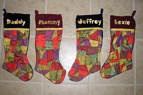 2007 Christmas stockings