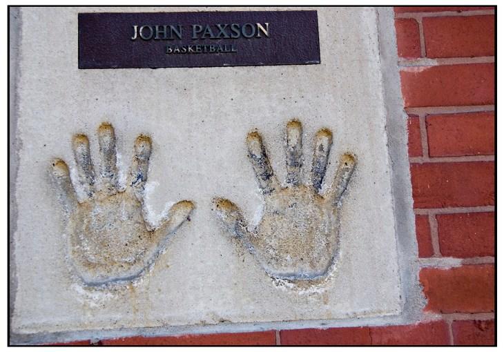 John Paxons Hand prints