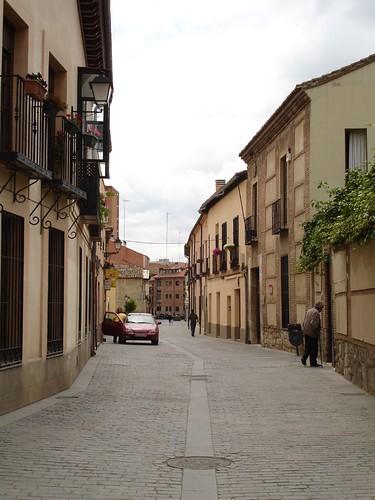 Calle de las Damas desde Santa Catalina en la actualidad