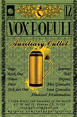 July 12th, 2008 ~ Vox Populi / Auxilary Outlet