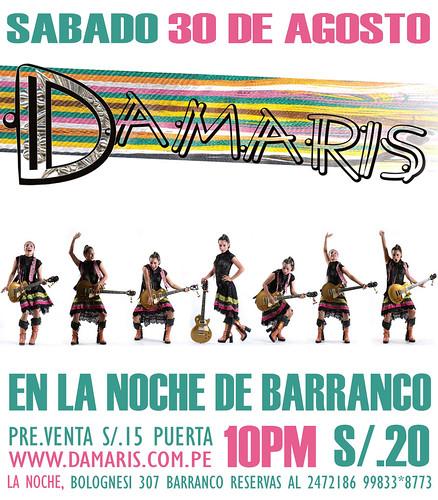Afiche Damaris