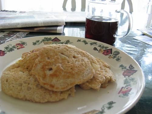 Pinapple Coconut Pancakes