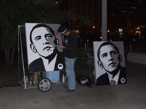 Paint by Numbers Obama