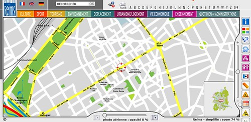 PLAN INTERACTIF DE REIMS by you.