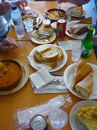 La Espana lunch