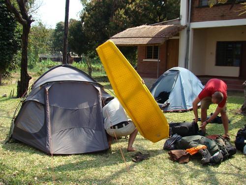 Setting Up Camp (Again...)