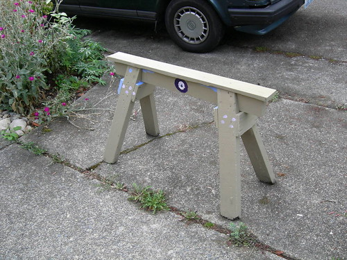 Skinny bench or sawhorse?