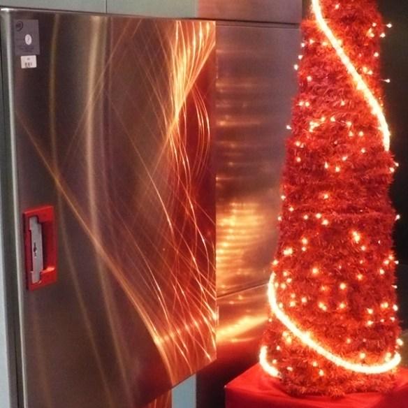 #137 - Christmas fire