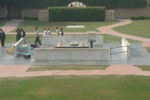 Raj Ghat甘地紀念碑1-7