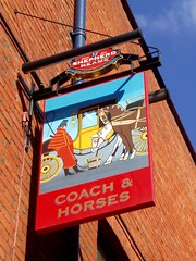 Coach and Horses, Mayfair, W1