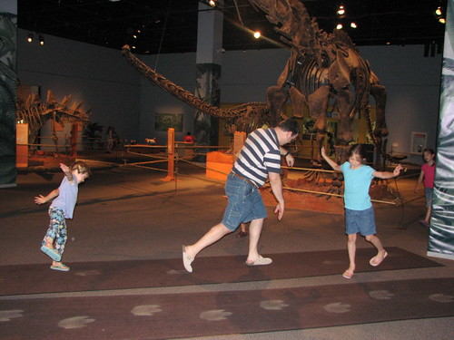 Walk like a Dinosaur