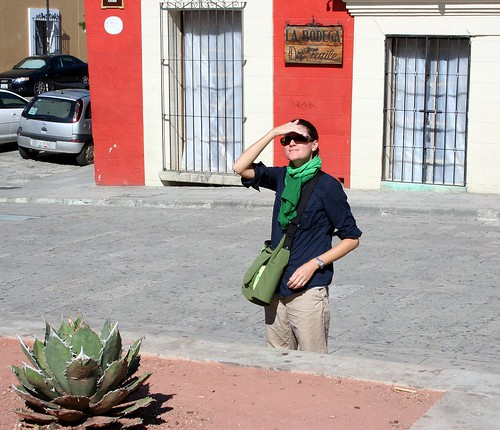 Jaime looks at Oaxaca