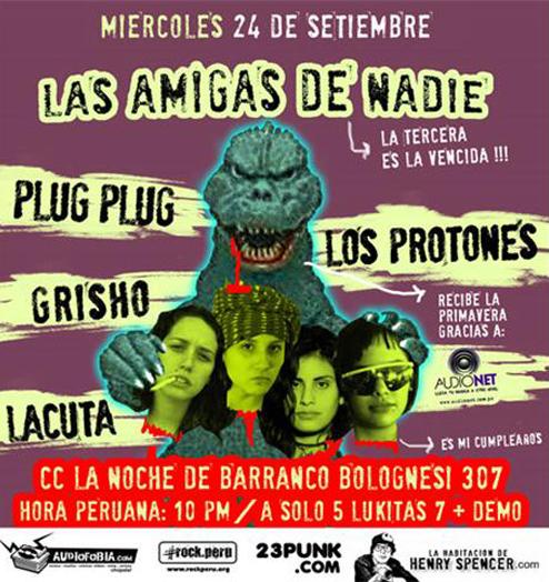 Afiche Las Amigas