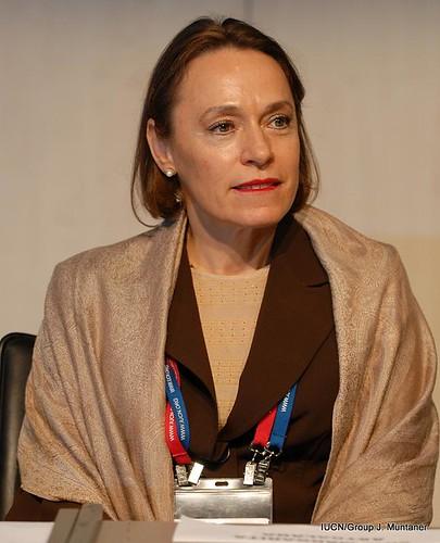 Margarita Astrálaga, directora del Centro de Cooperación del Mediterráneo de la UICN
