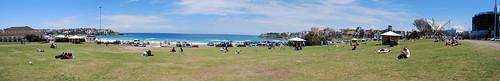 Panorama de la playa de Bondi