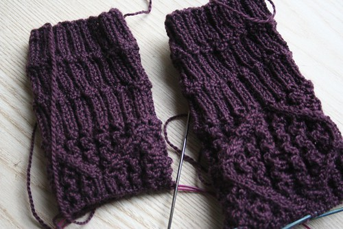 Through the Loops Mystery Socks, WIP