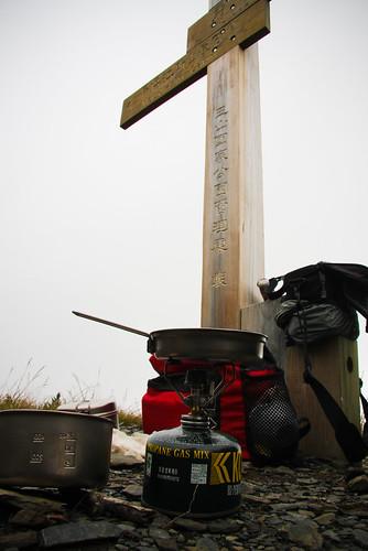 09/11 10:38: 前往秀姑巒山