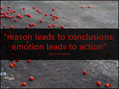 reason, conclusion - emotion, action