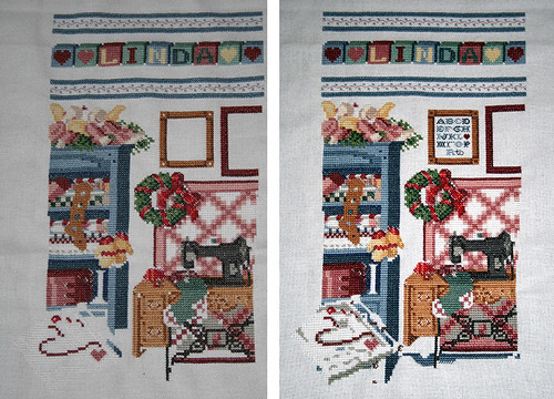 Before and After the Stitch-A-Thon