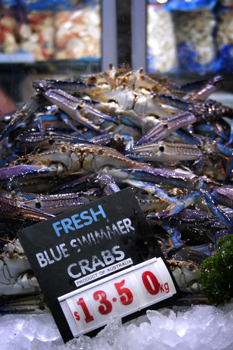 We got crabs in Melbourne.