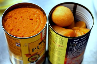 my first canned yams, ever