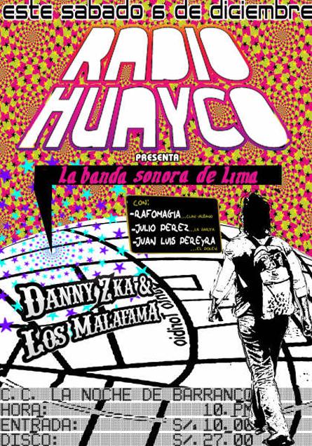 Afiche Radiohuayco