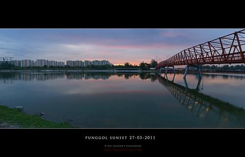 Punggol Sunset Pano #2