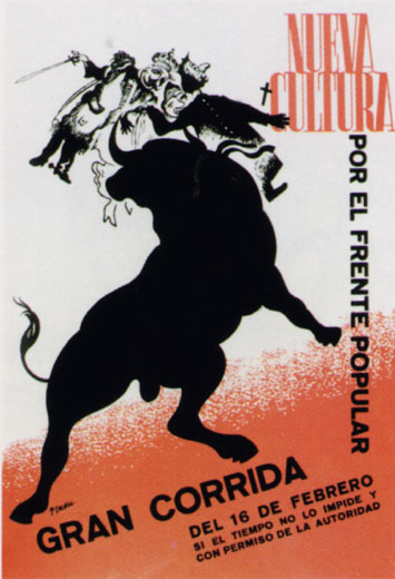 Corrida de toros del Frente Popular