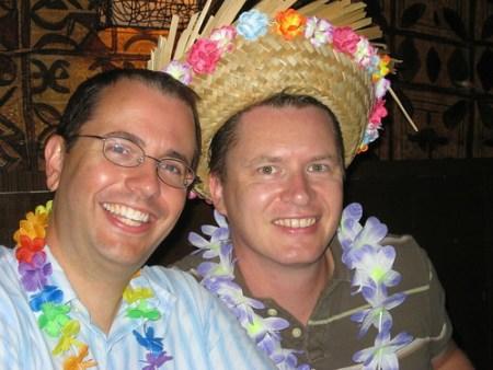 Chris and James