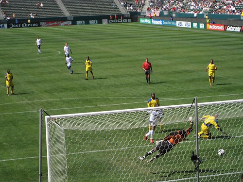 Eddie Johnson's goal