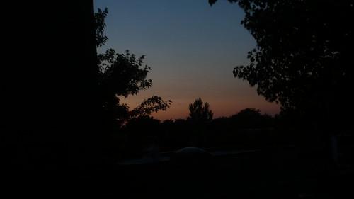 Sunset from my balcony last night