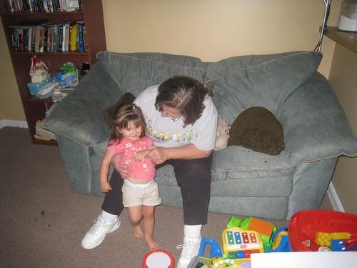Amelia and Grandma K
