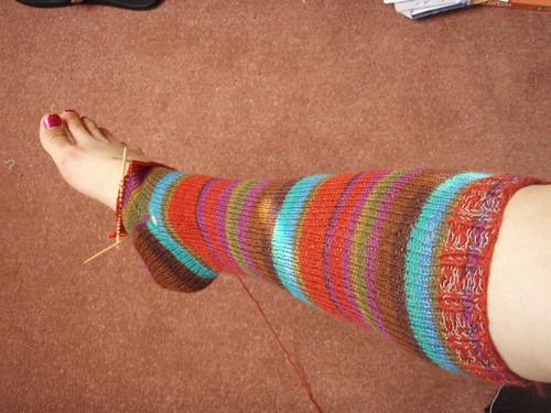amost finished sock.JPG