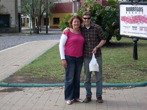 Inge en ik in Adrogue