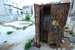 Rusted Safe