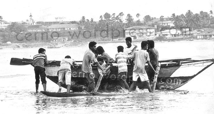 Hambantota beach - some time in the 1990s
