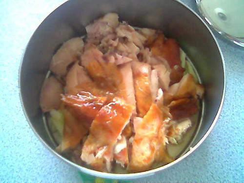 Tiffin carrier - roast chicken