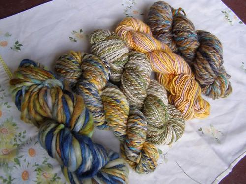 mixing yarns 1